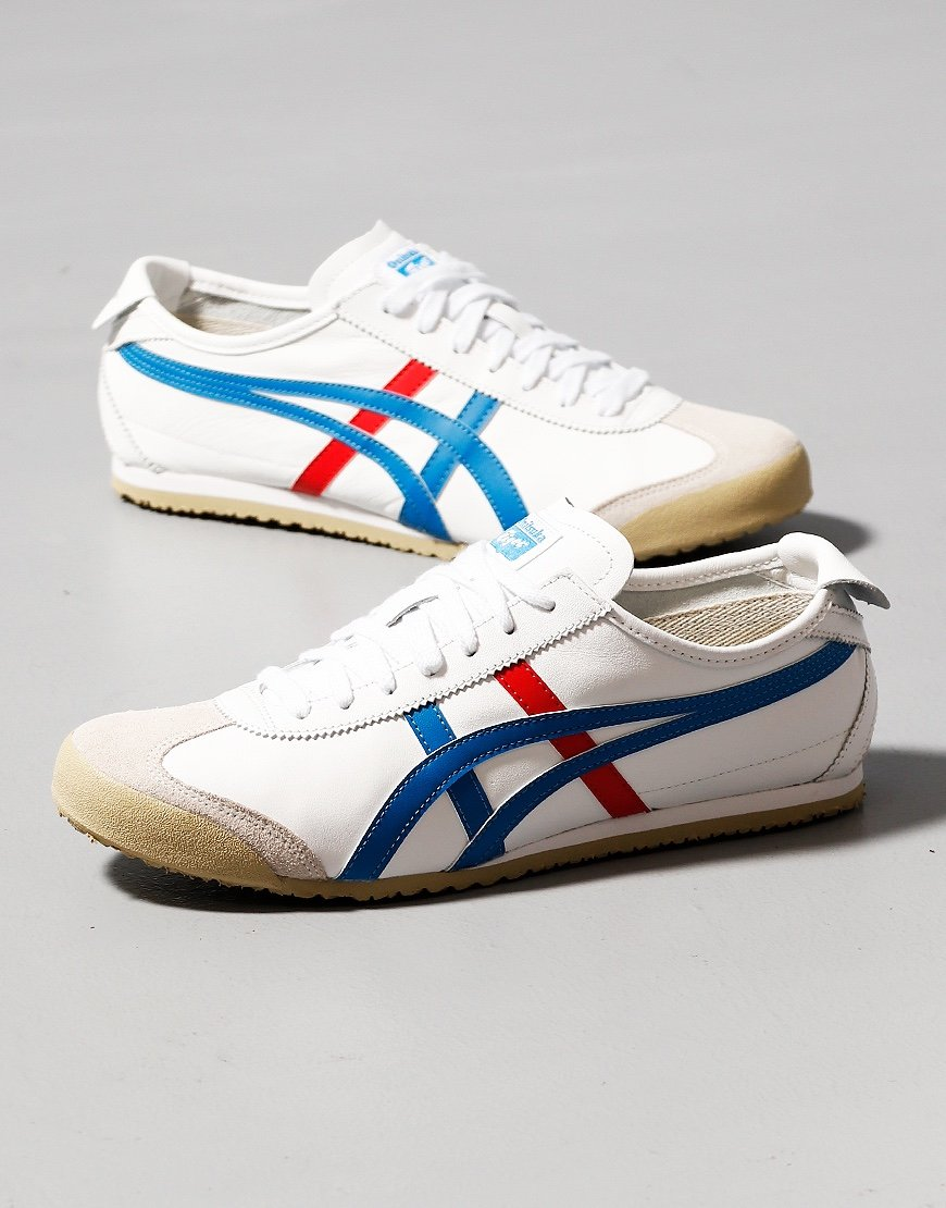 Onitsuka Tiger Mexico 66 Trainers White/Blue