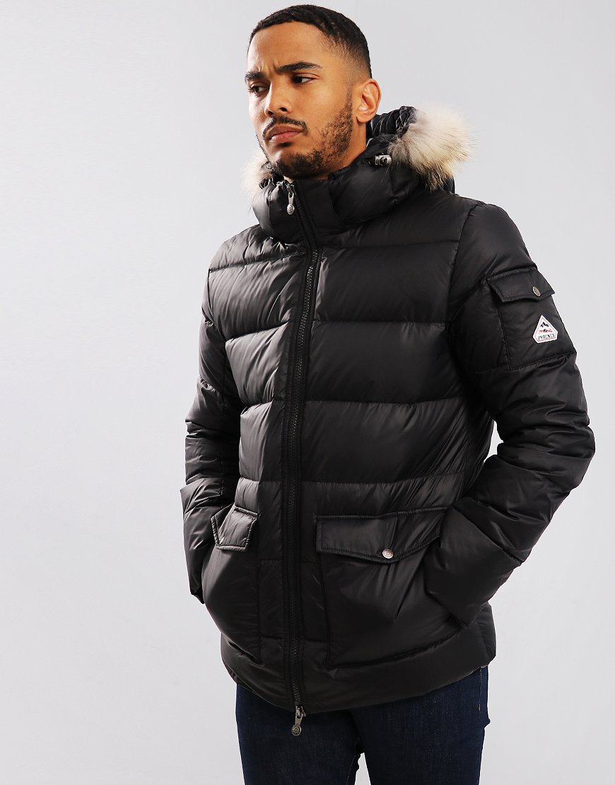 Pyrenex Authentic Jacket Mat Synthetic Fur Black
