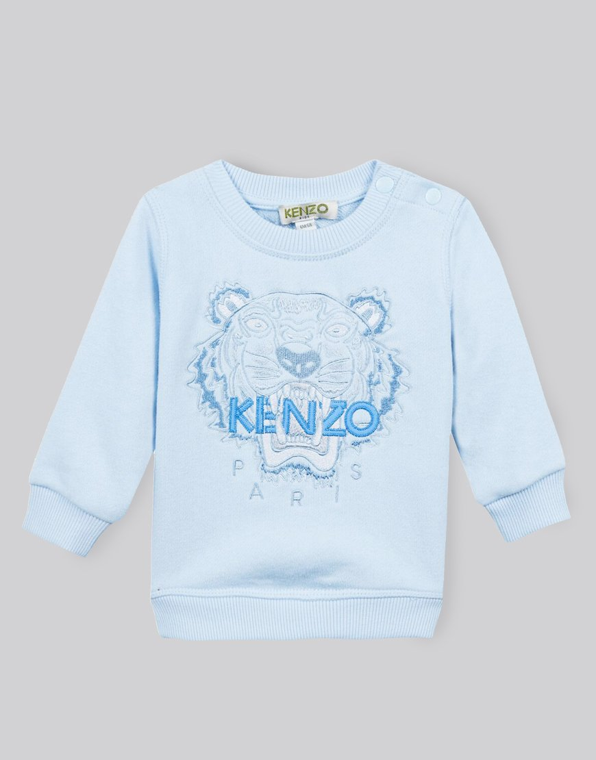 KENZO Kids Tiger Sweat Light Blue