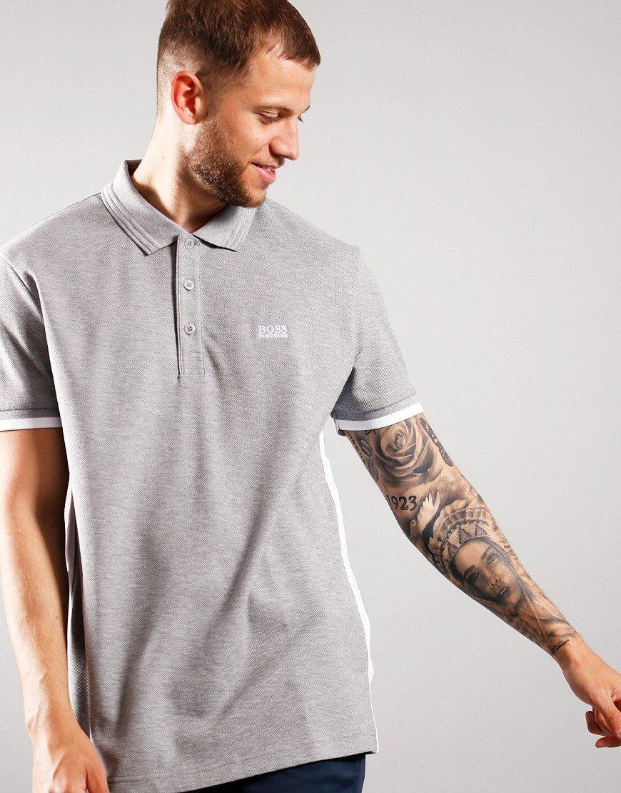 BOSS Paddy 3 Polo Shirt Light/Pastel Grey