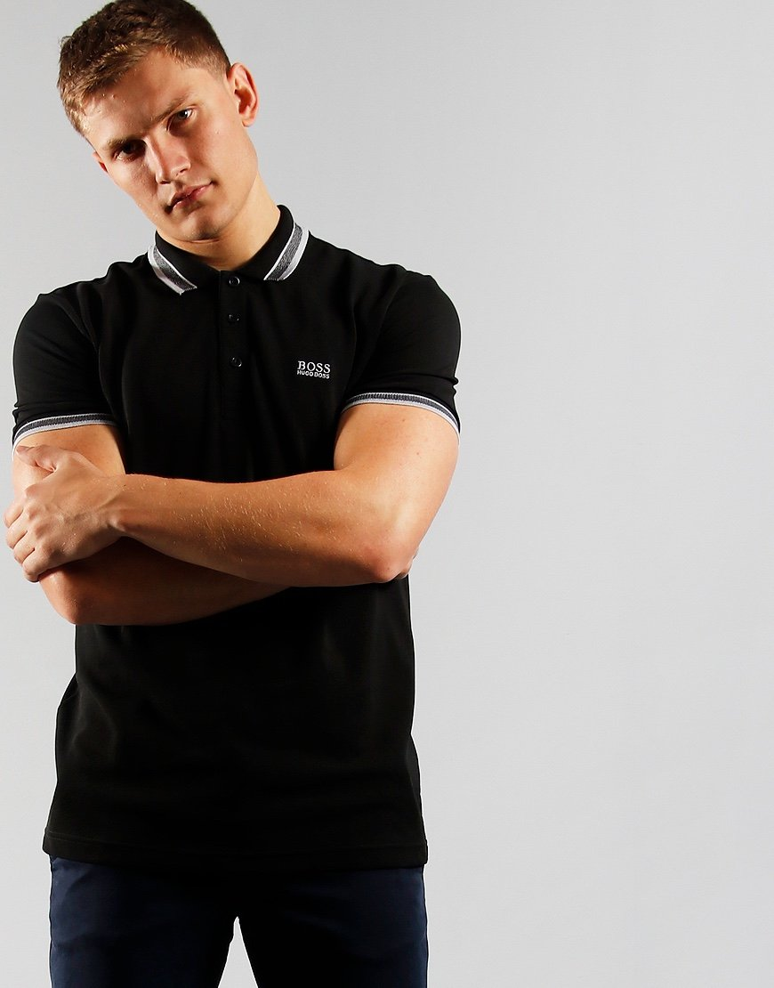 BOSS Paddy Polo Shirt Black
