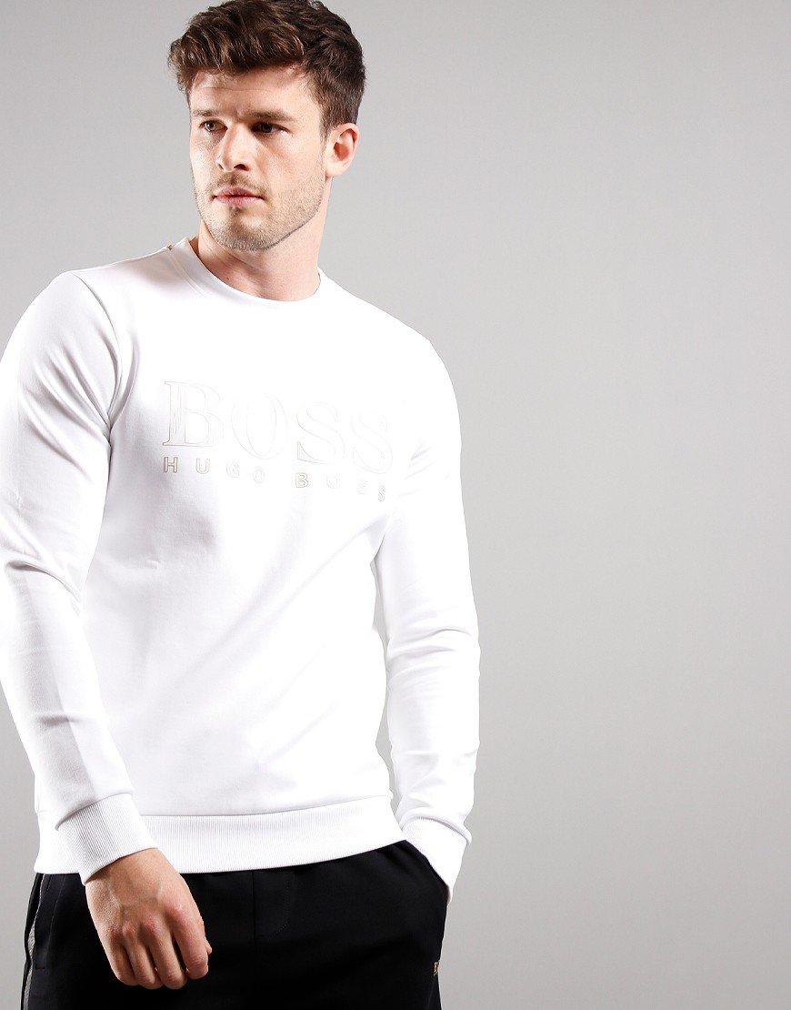 BOSS Salbo Iconic Sweat White