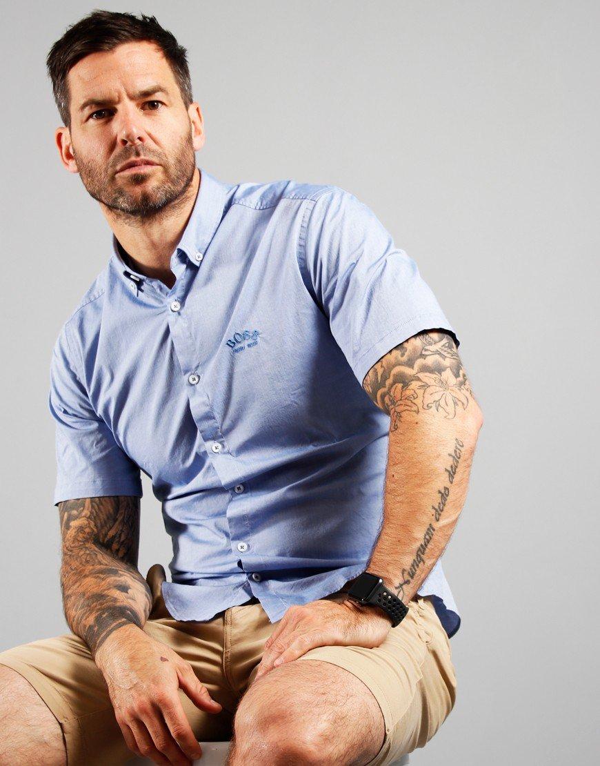 BOSS BIADIA R Shirt Medium Blue