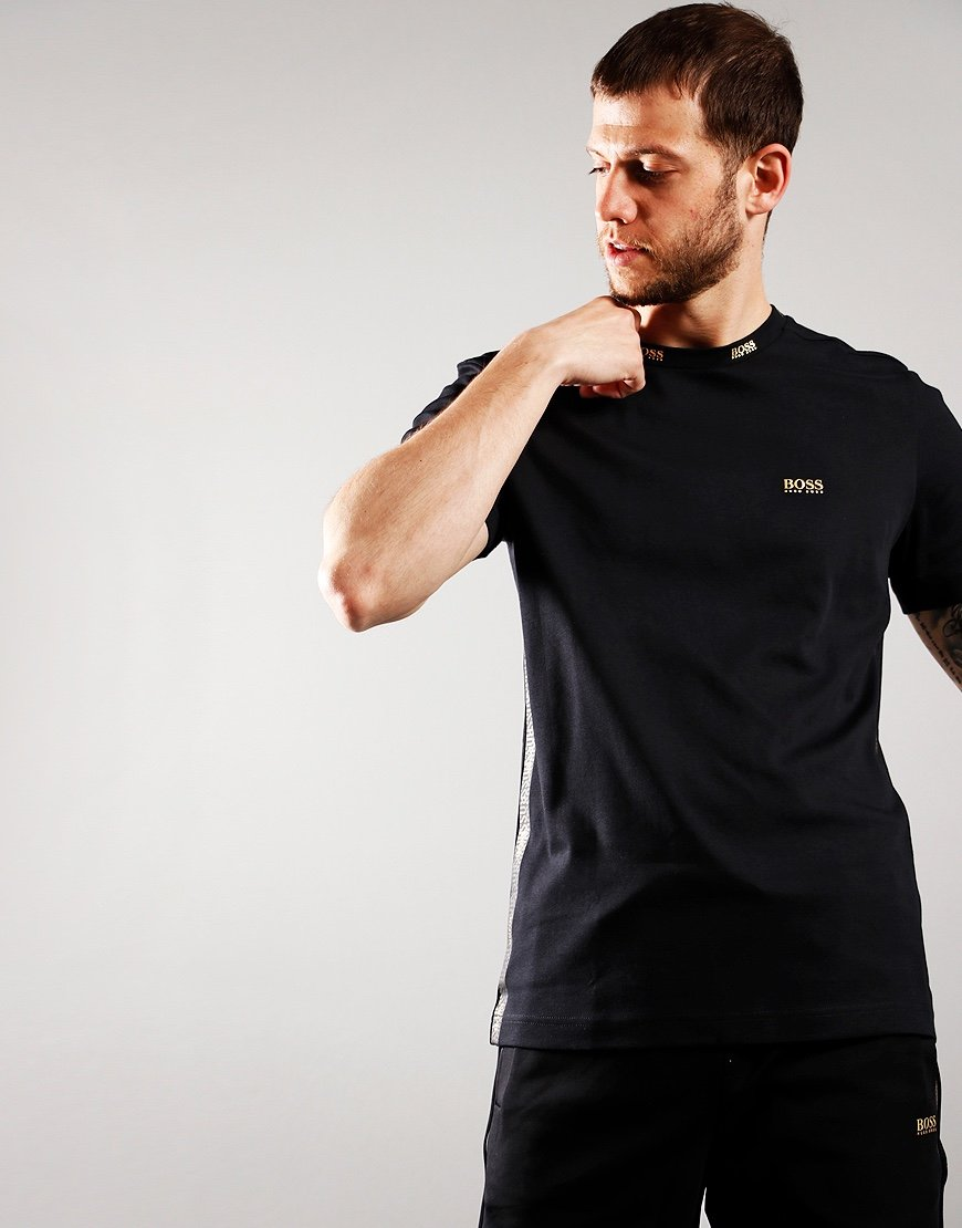 BOSS Tee Gold 1 T-Shirt  Black