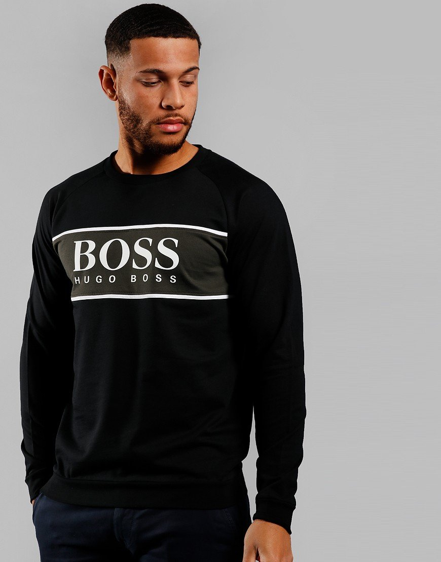 BOSS Authentic Crew Sweat Black