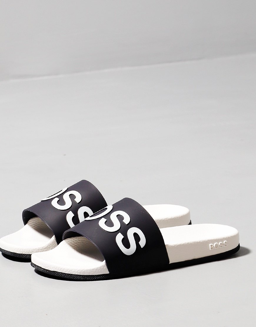BOSS Bay Logo Slide Open Blue