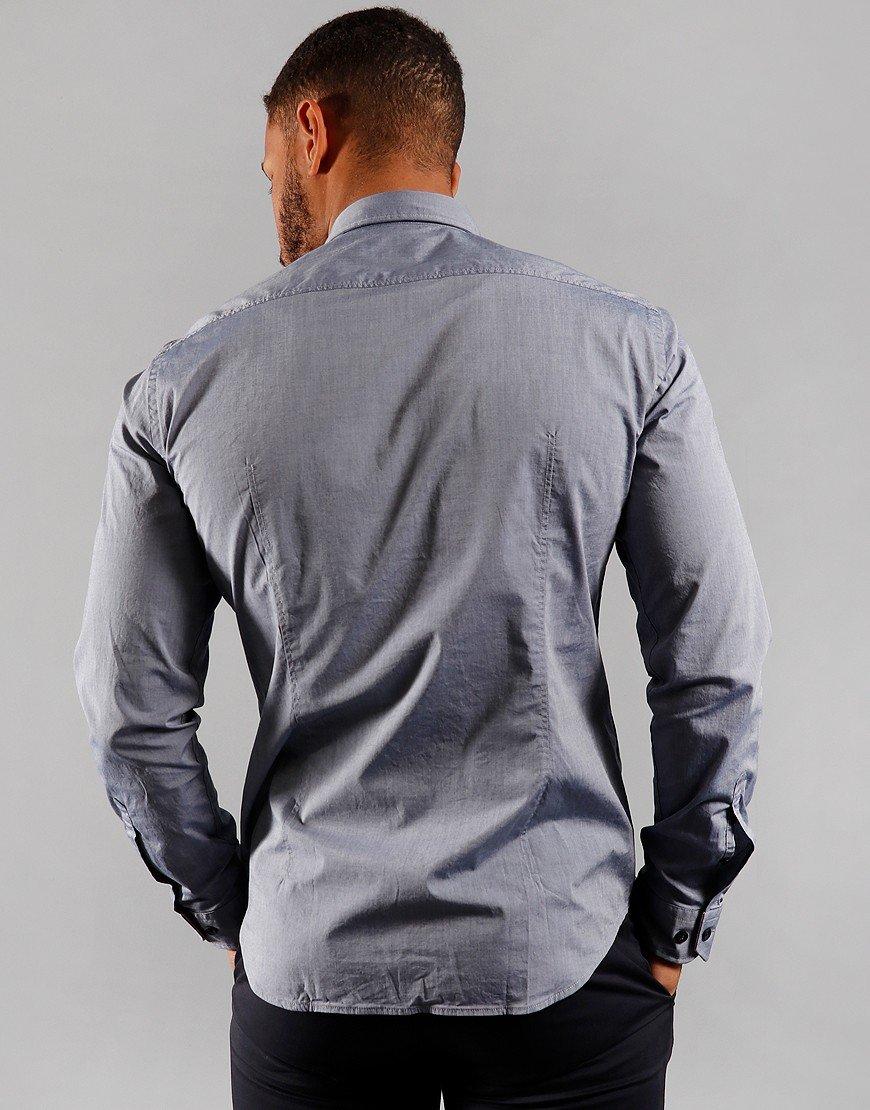 BOSS Biado_R Shirt Open Blue