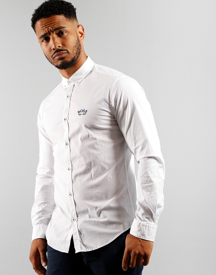 BOSS Athleisure Biado_R Shirt White