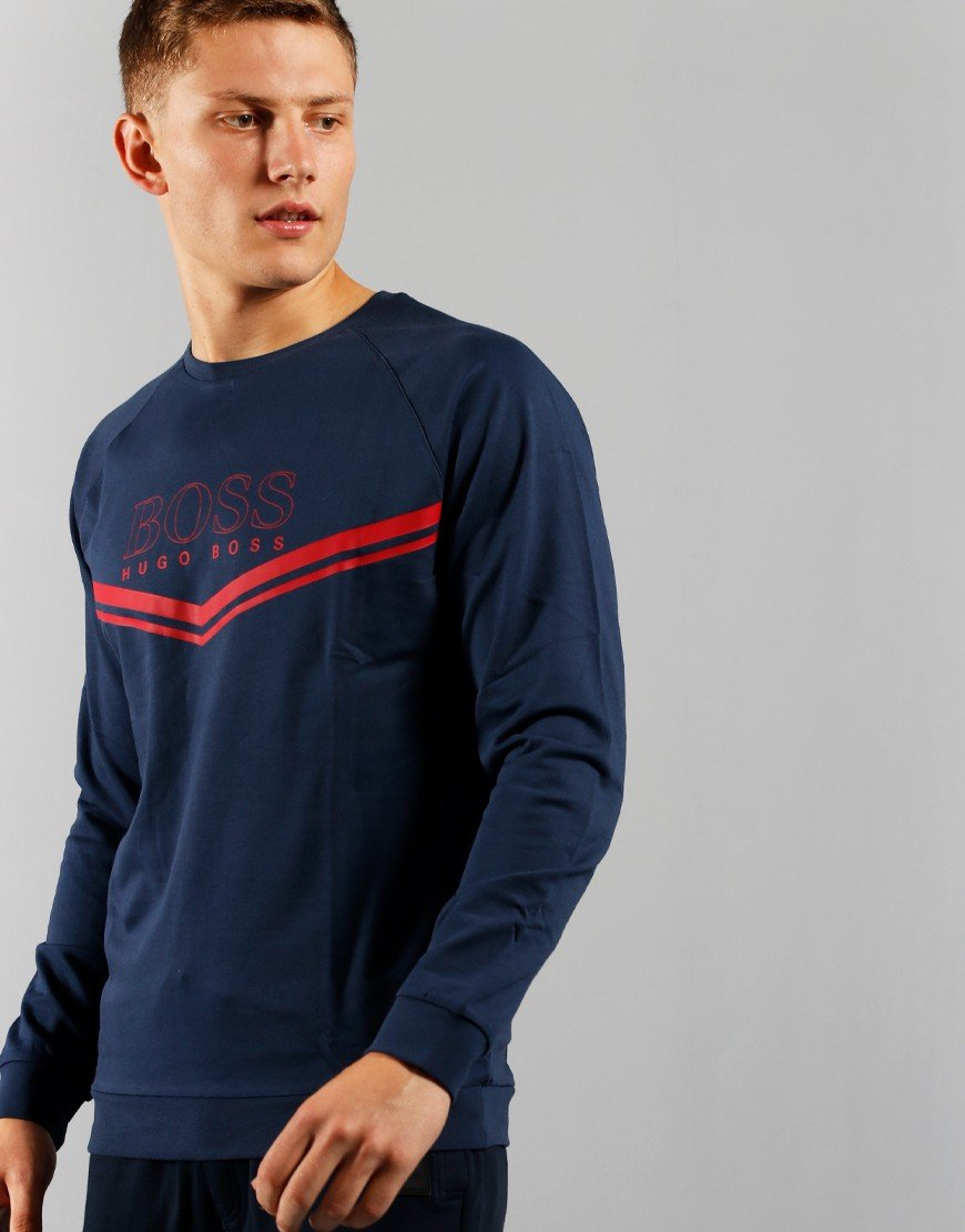 BOSS Bodywear Authentic Sweatshirt Dark Blue
