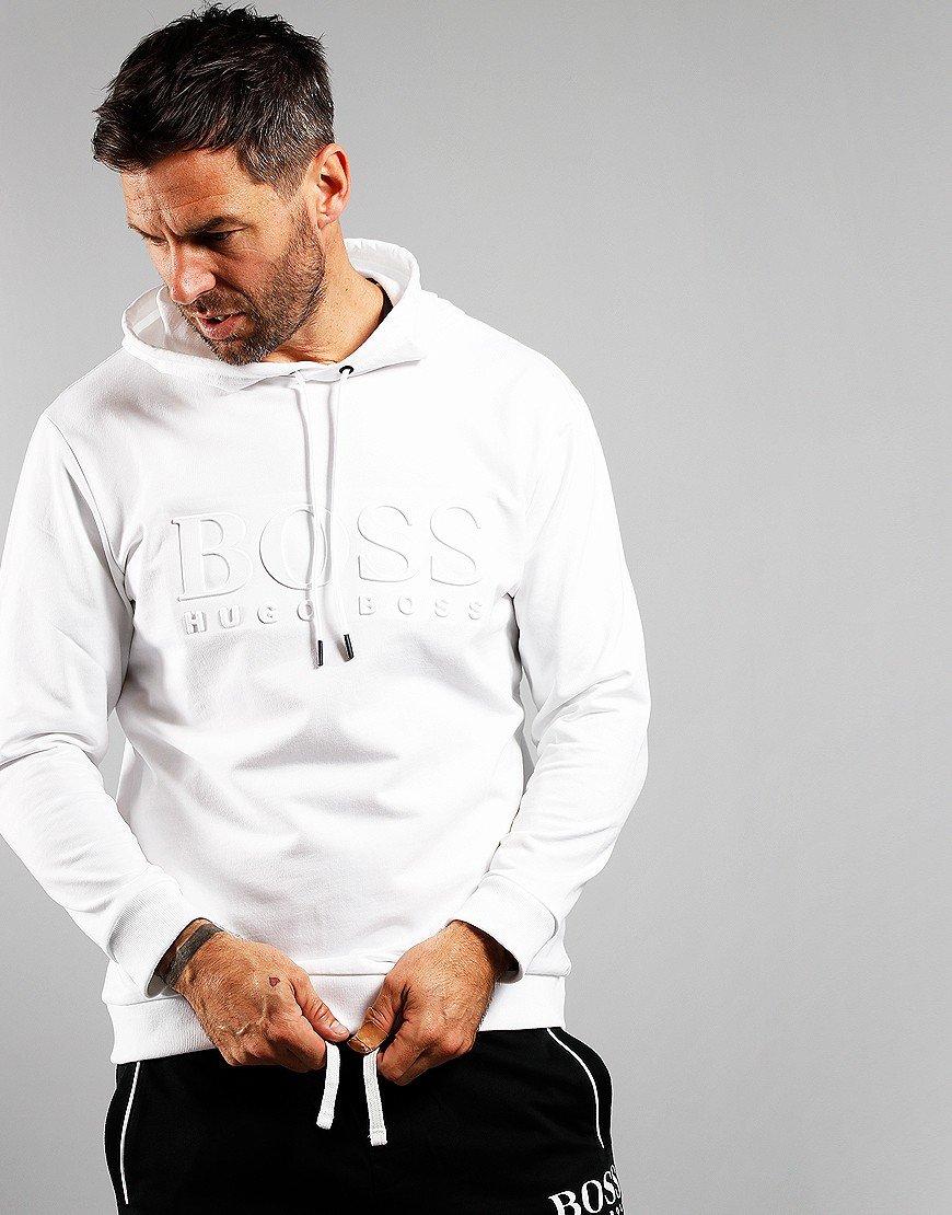 BOSS Heritage Hooded Sweatshirt White