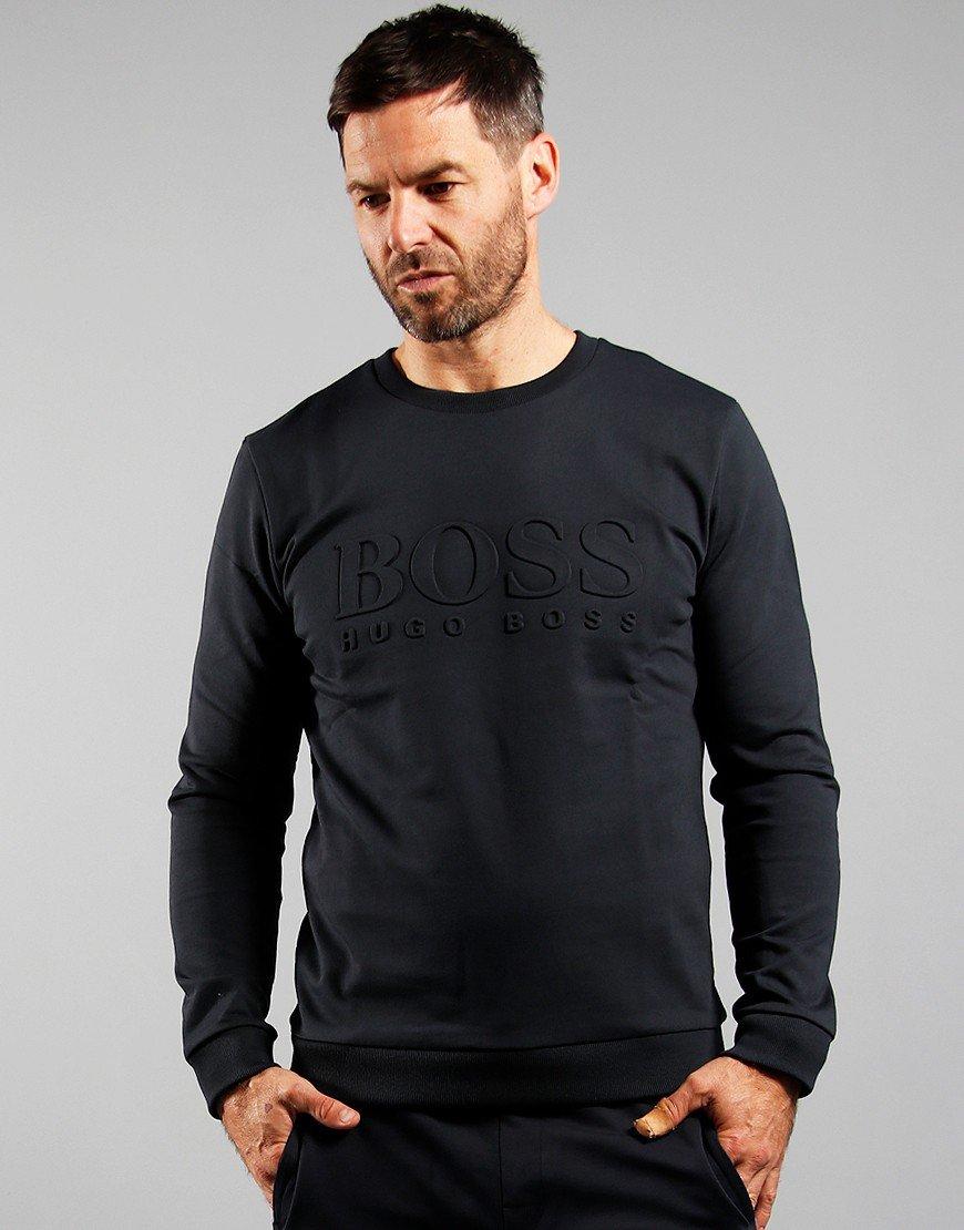 BOSS Heritage Sweatshirt Open Blue