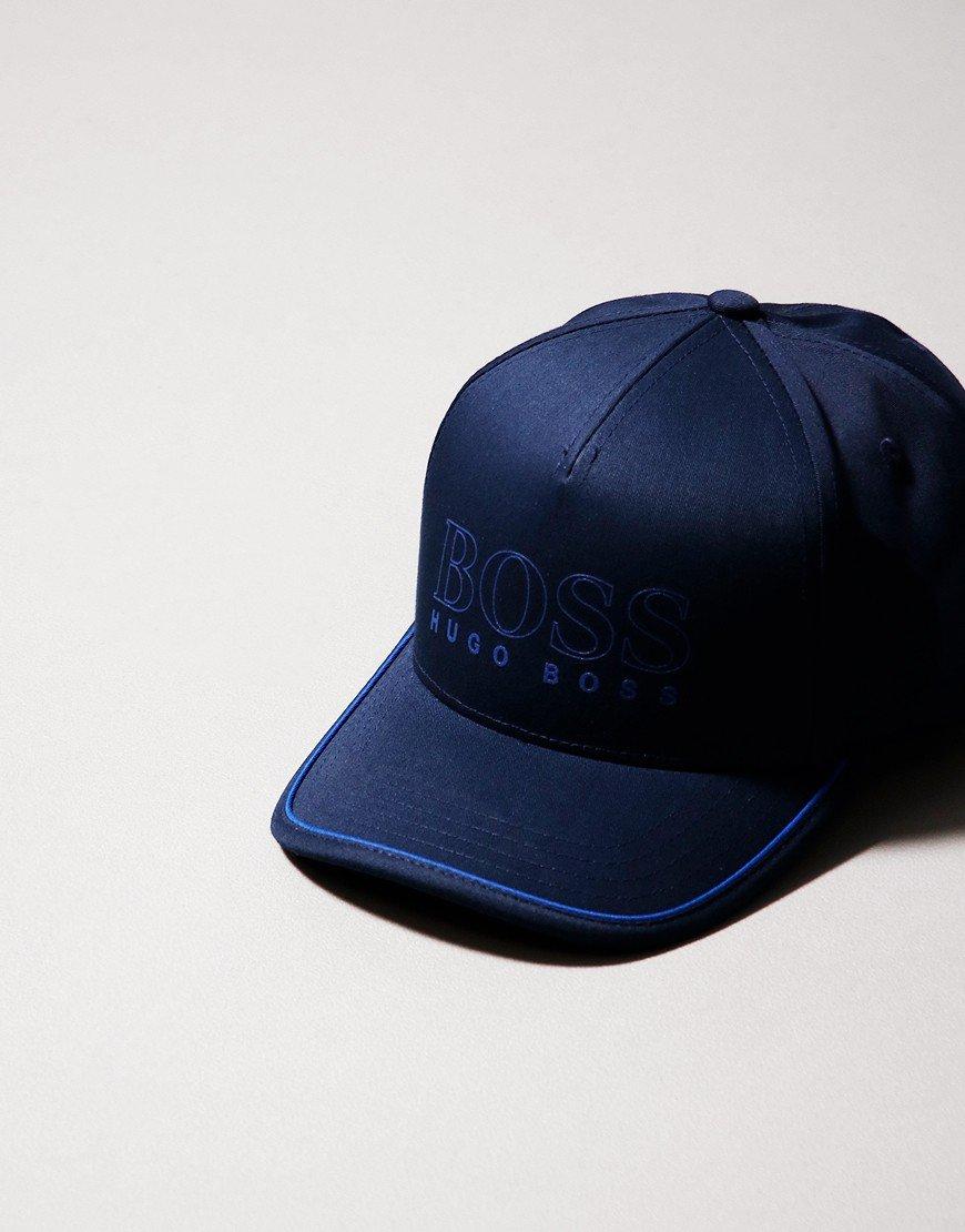 BOSS Novel Cap Navy