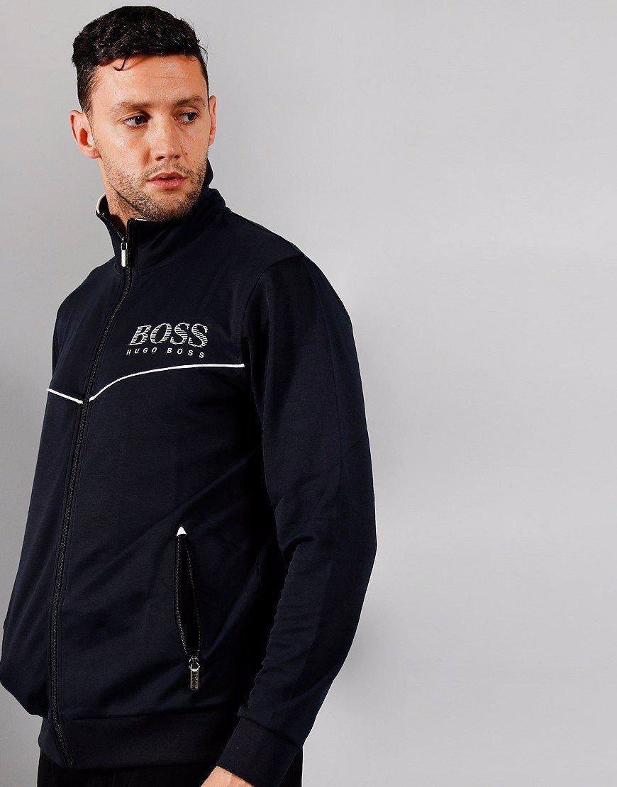 BOSS Tracksuit Jacket Dark Blue