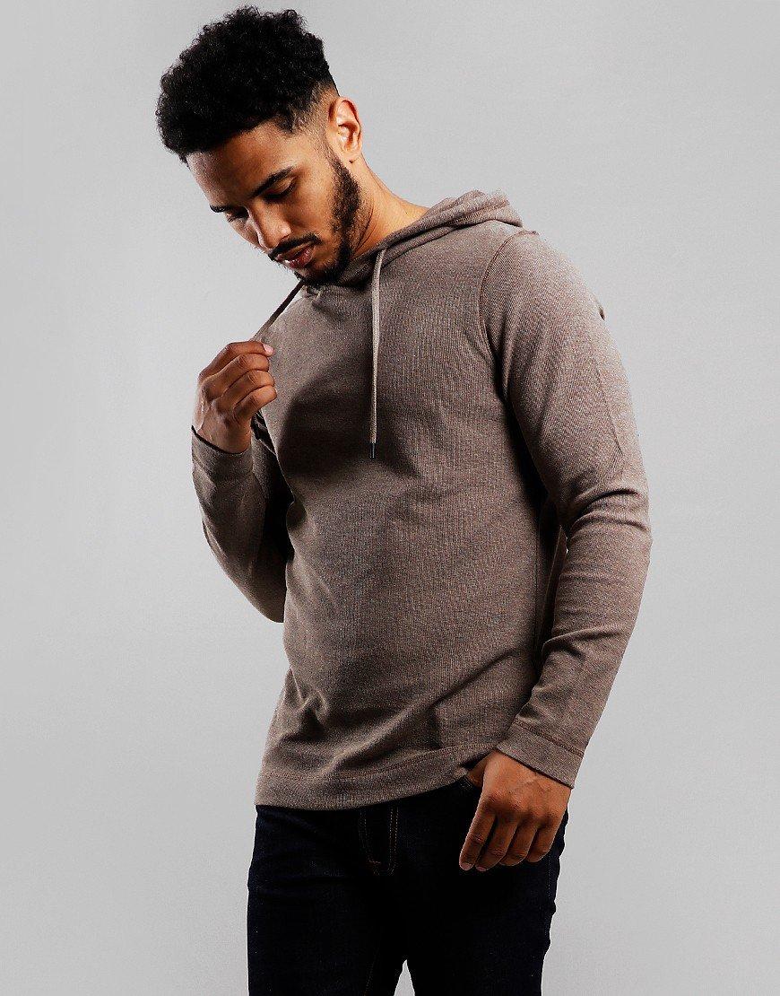 BOSS 'THoody' T-Shirt Hoodie Dark Grey