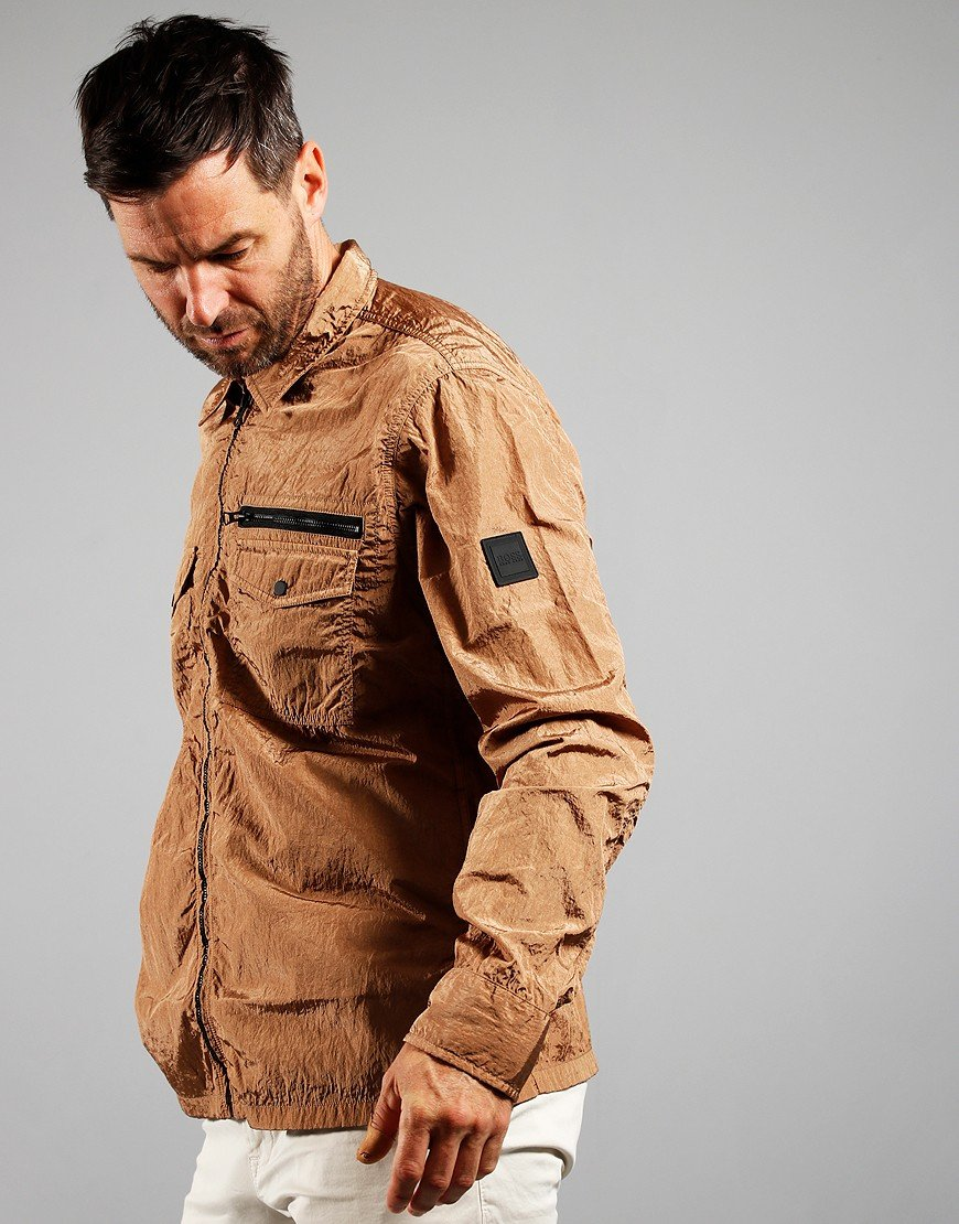 BOSS Lovel Zip 3 Jacket Medium Beige