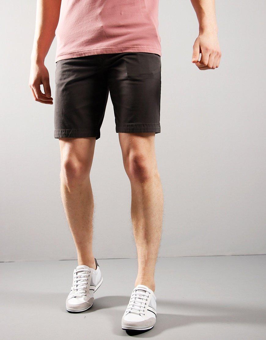 BOSS Schino Slim Fit Shorts Charcoal