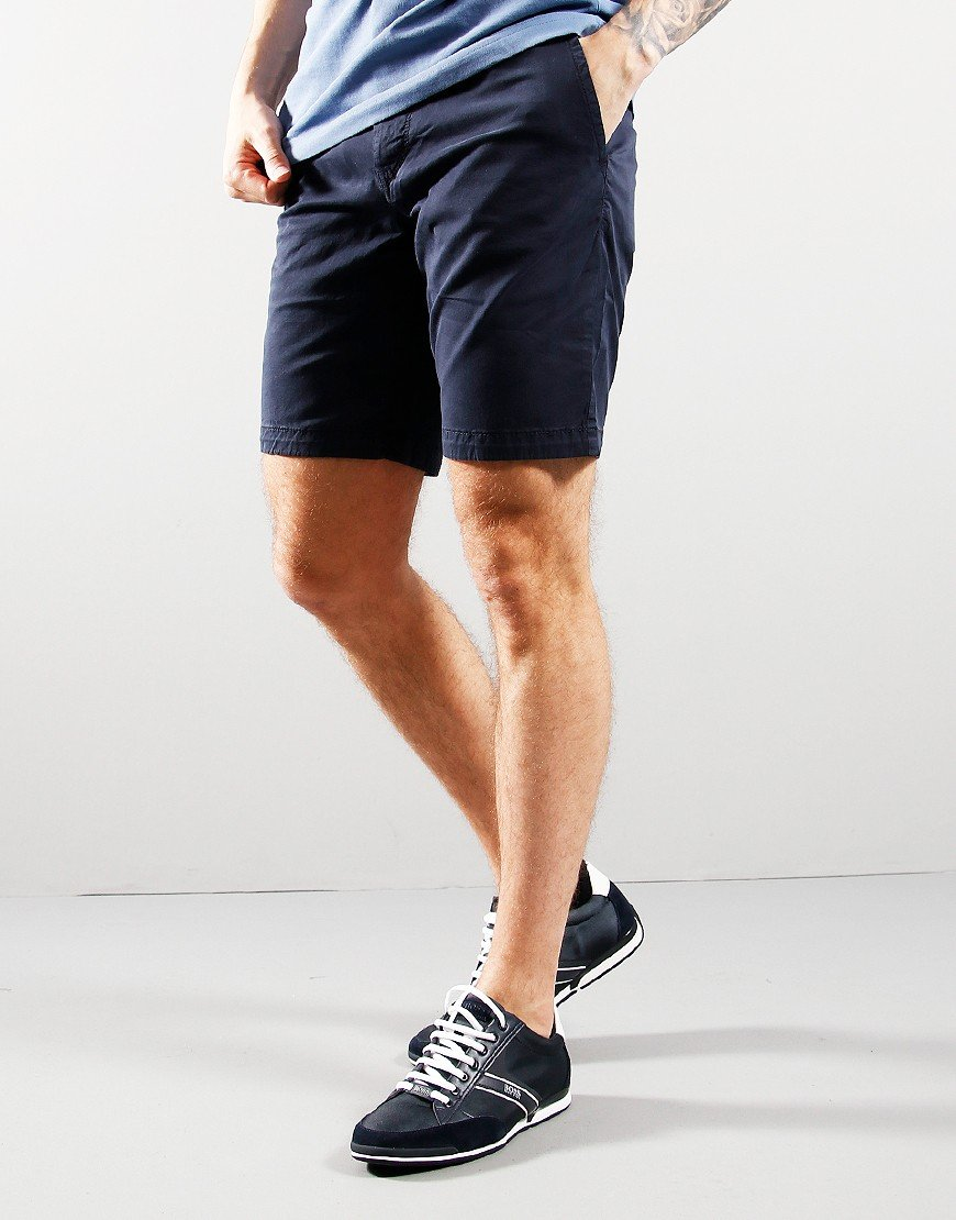 BOSS Schino Slim Fit Short Dark Blue