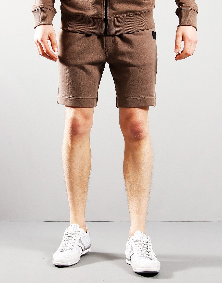 BOSS Skoleman Sweat Shorts Beige
