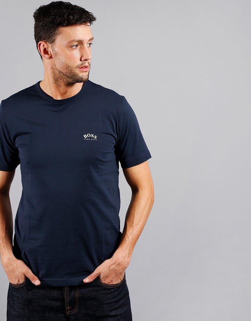 BOSS Curve T-Shirt Navy