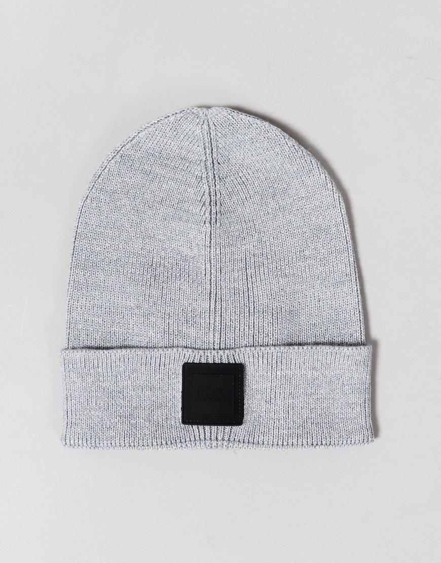 BOSS Foxx Beanie Hat Light/Pastel Grey