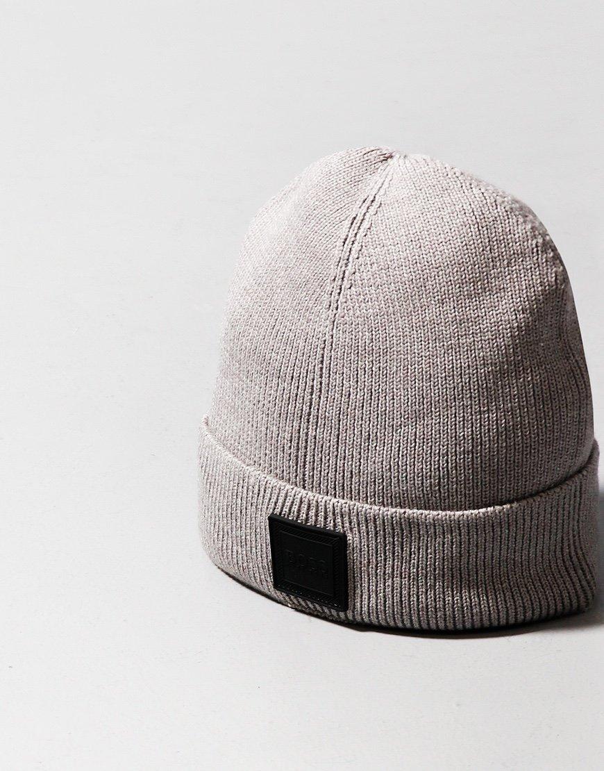BOSS Foxxy Beanie Hat Medium Grey