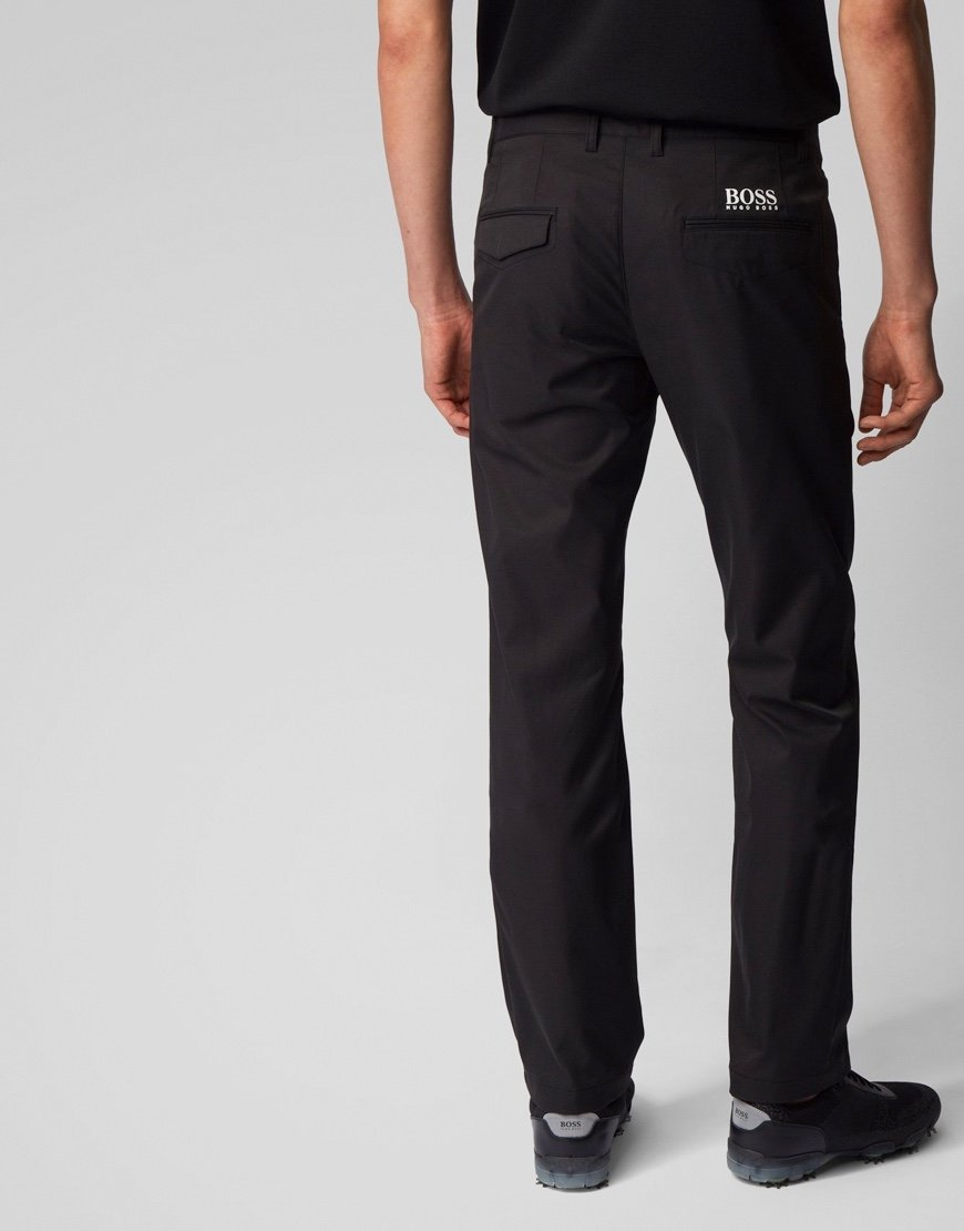 BOSS Hakan Slim-fit Trousers Black