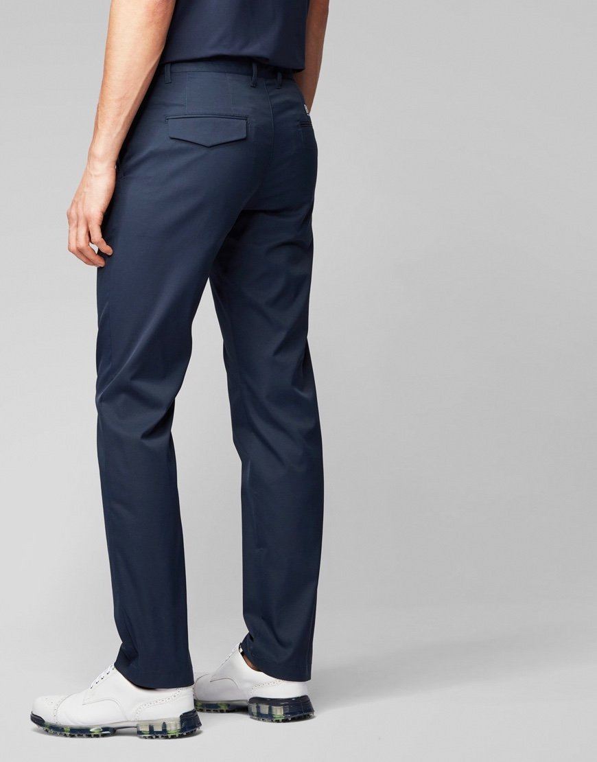 BOSS Hakan Slim-fit Trousers Navy