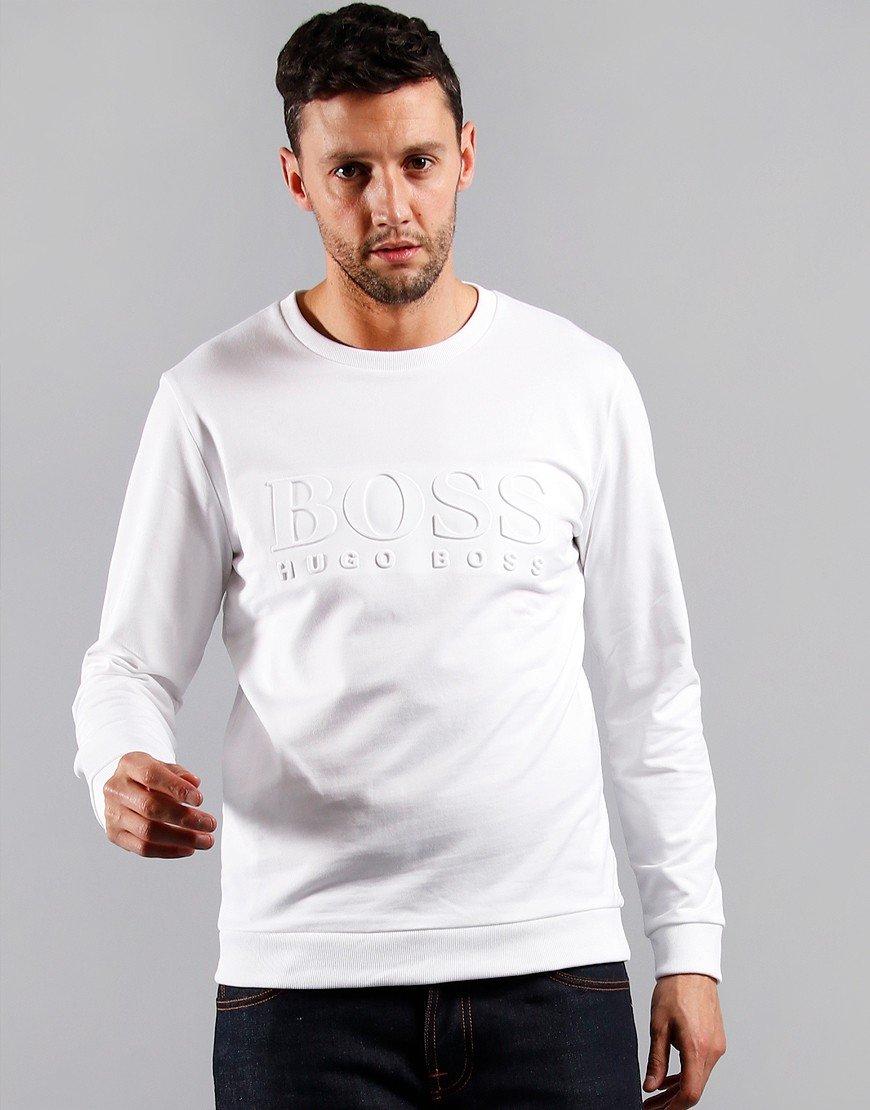 BOSS Heritage Sweatshirt White