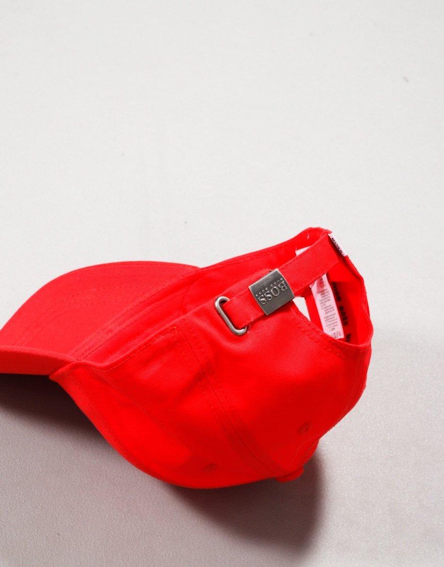 BOSS Kids Logo Cap Red