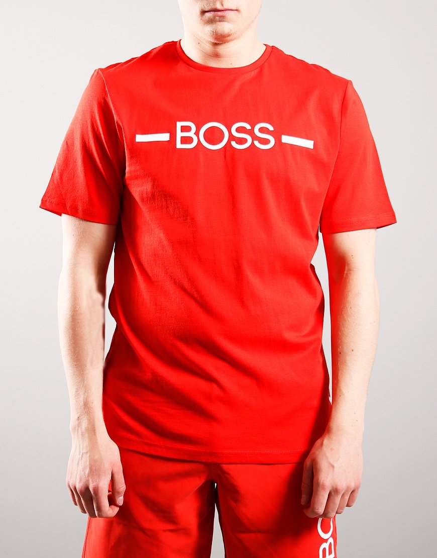BOSS Kids Logo T-Shirt Bright Red