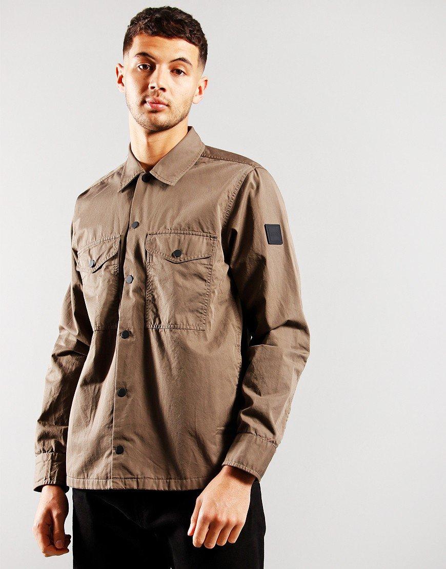 BOSS Lovel 7 Overshirt Beige/Khaki