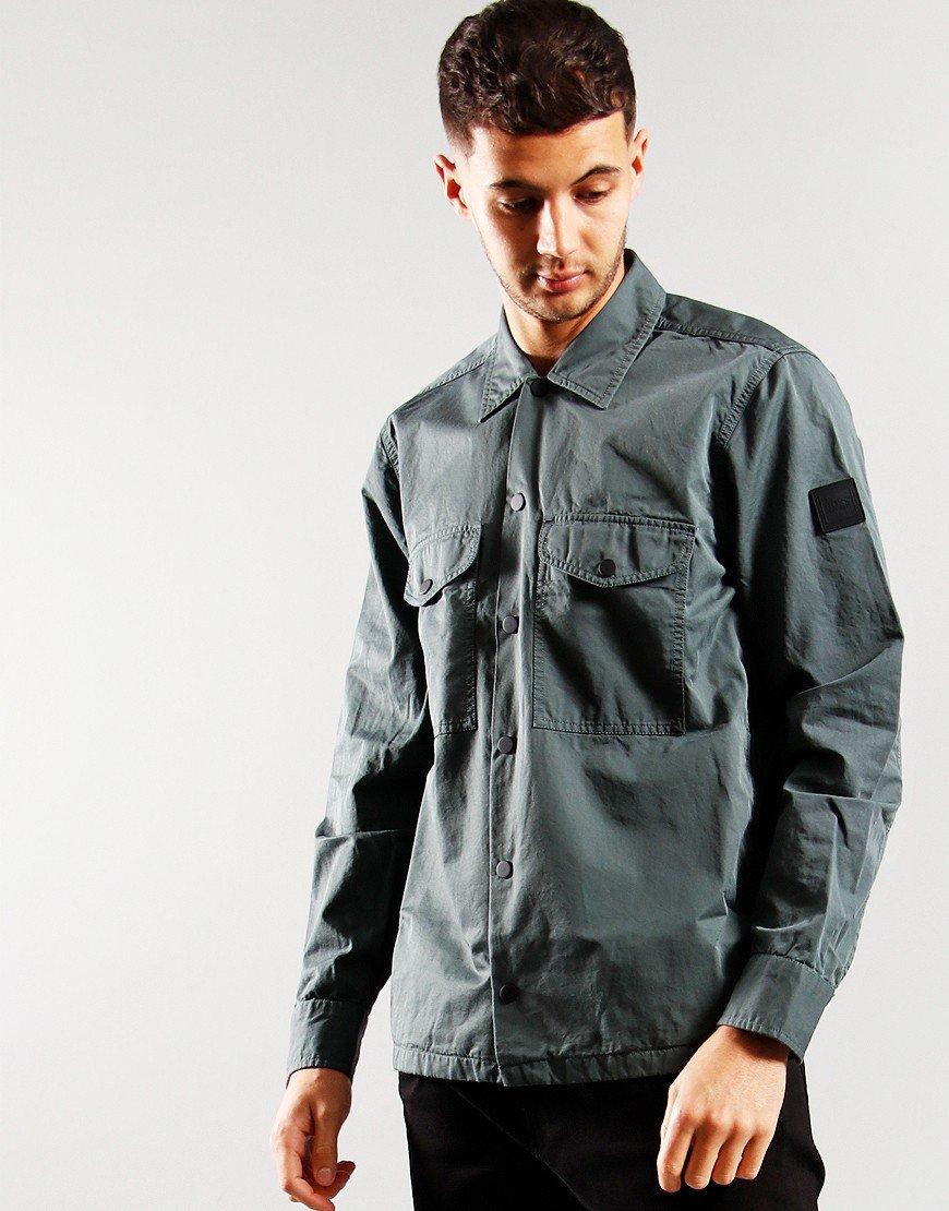 BOSS Lovel 7 Overshirt Dark Green