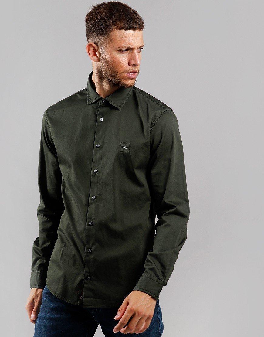 BOSS Mypop 2 Shirt Open Green