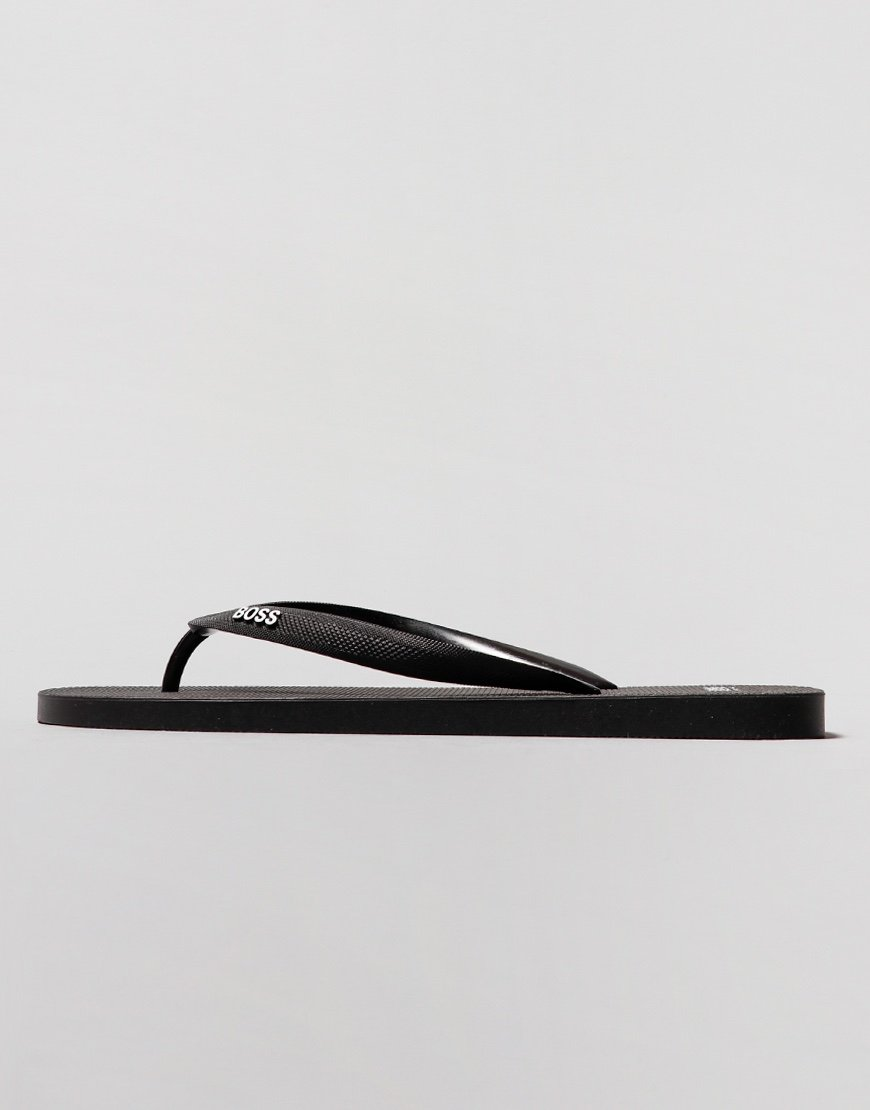 BOSS Pacific Flip Flops Black