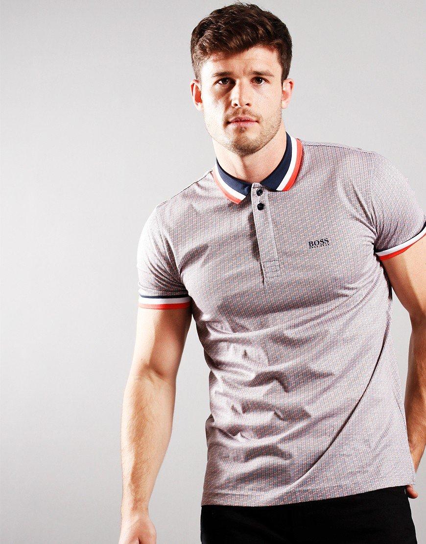 BOSS Paddy 2 Polo Shirt Navy