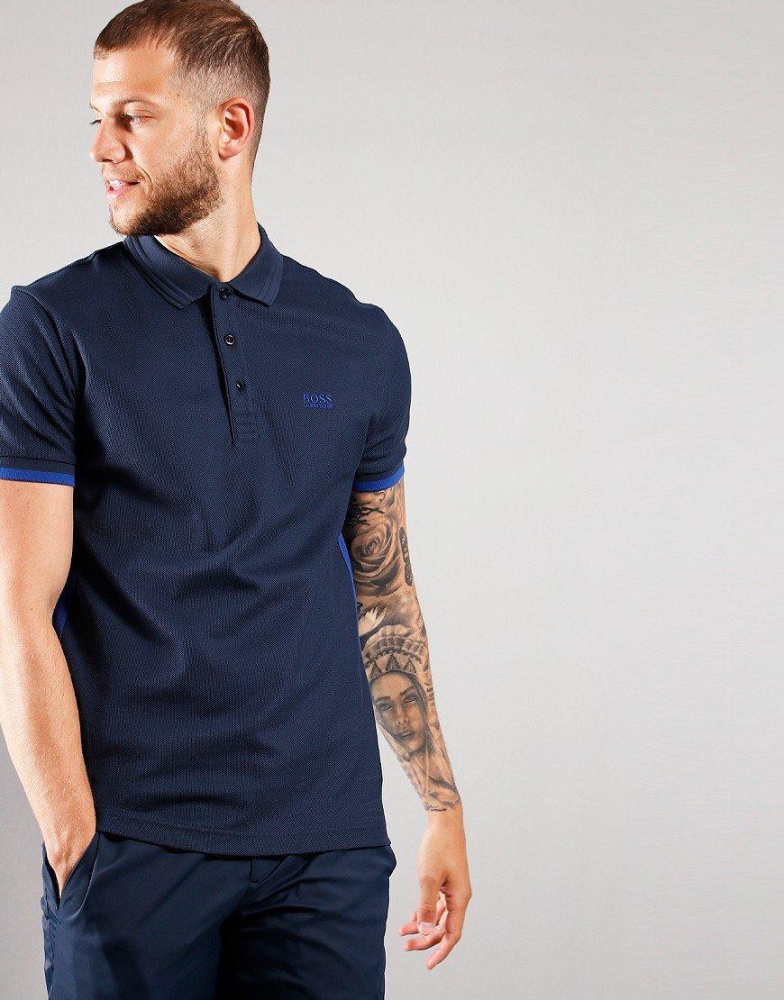 BOSS Paddy 3 Polo Shirt Navy