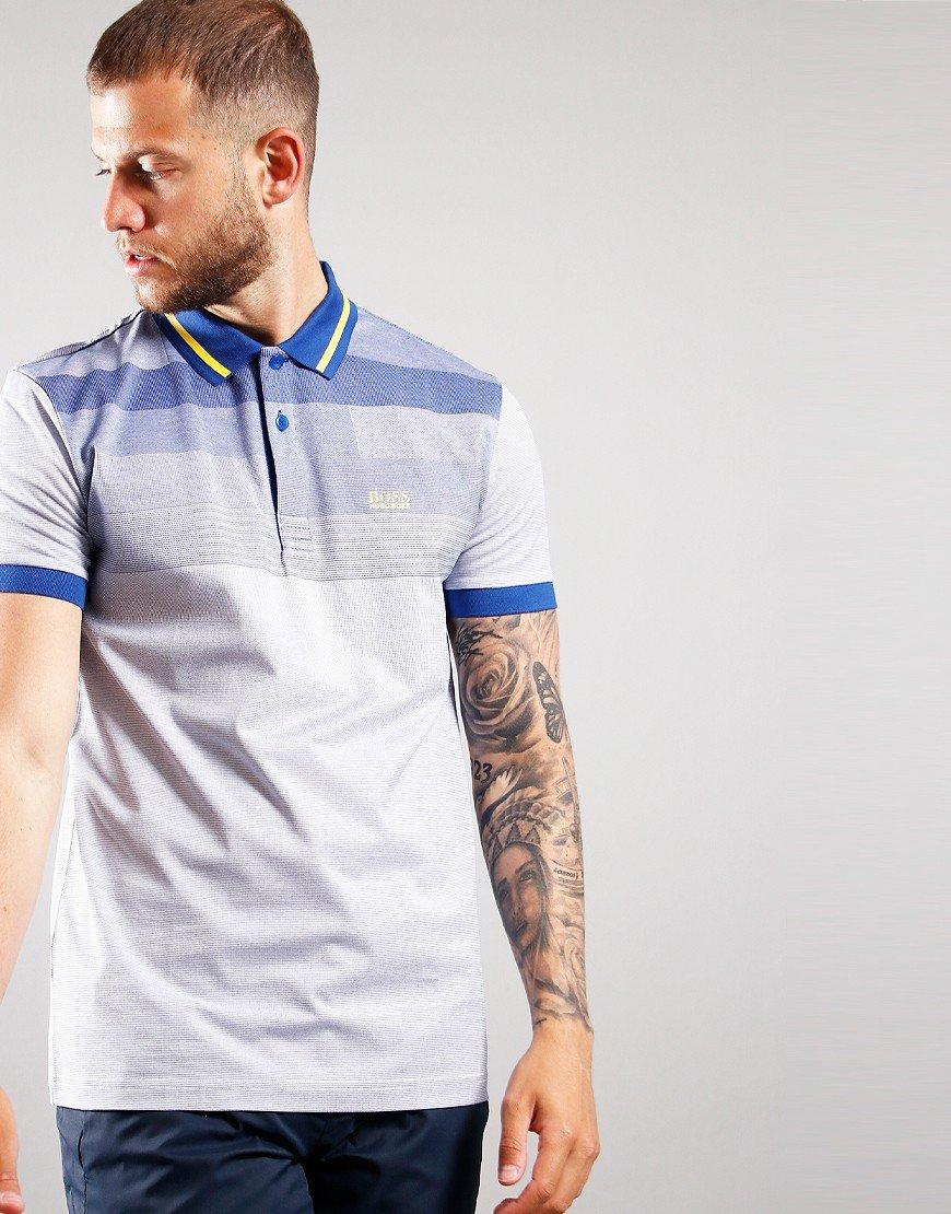 BOSS Paddy 4 Polo Shirt Bright Blue