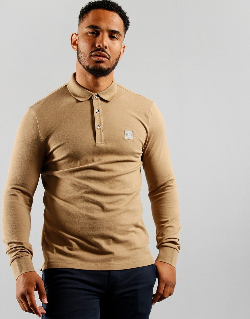 BOSS Casualwear Passerby Polo Medium Beige