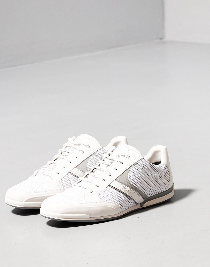 BOSS Saturn KNRF Trainers White