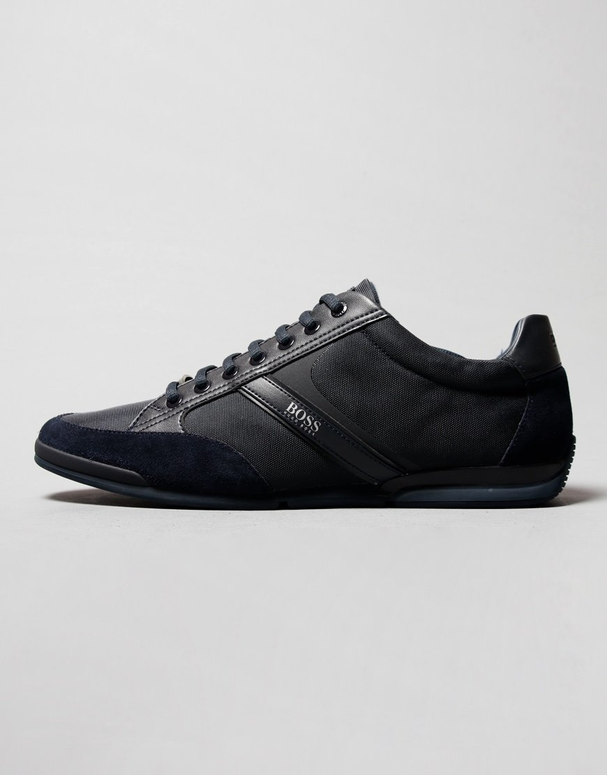 BOSS Saturn Lowp Trainers Dark Blue