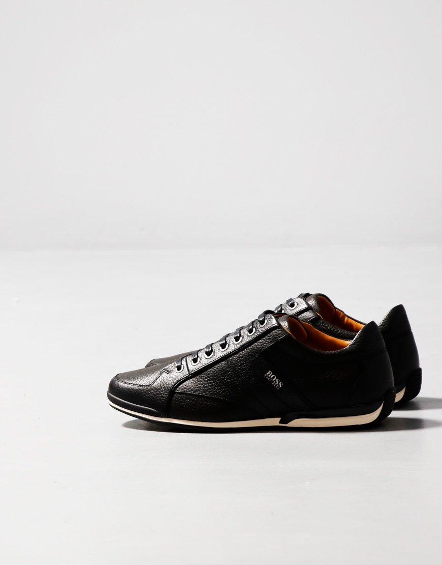 BOSS Saturn Low Top Trainers TBP1F Black