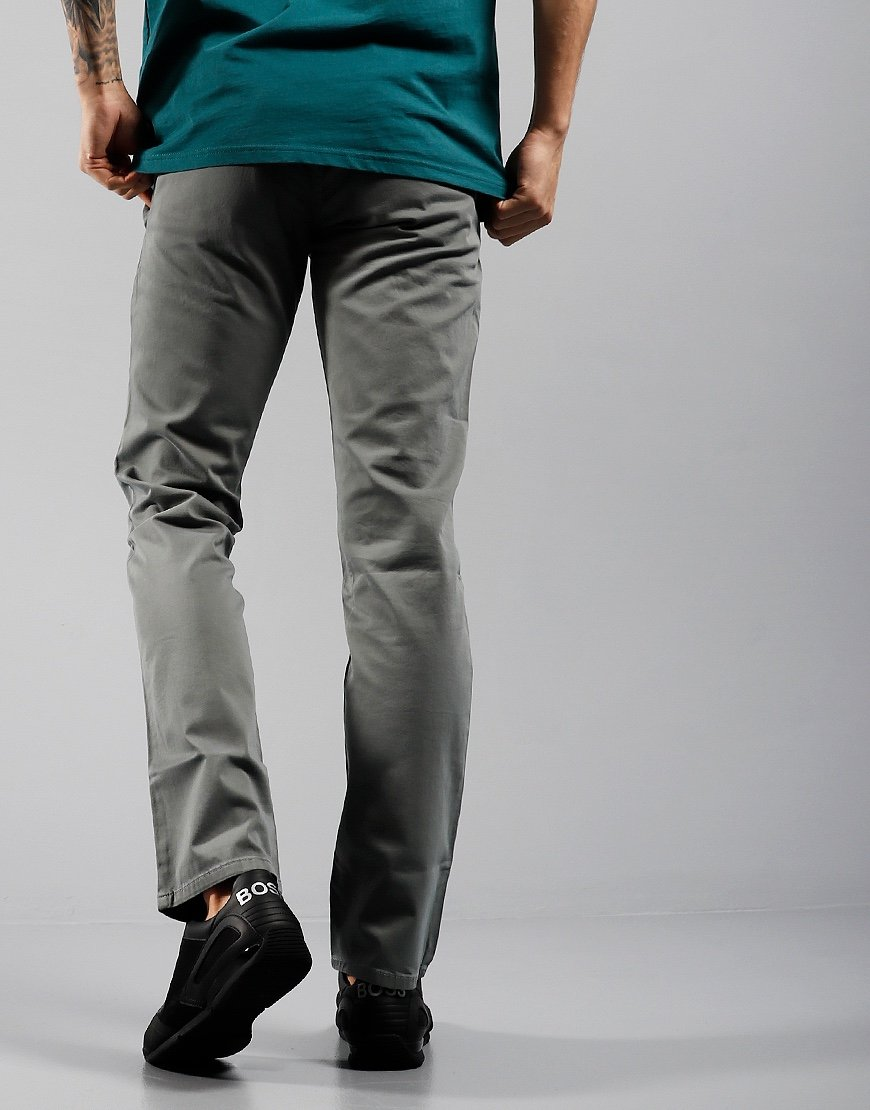 BOSS Schino Slim Chinos Medium Grey