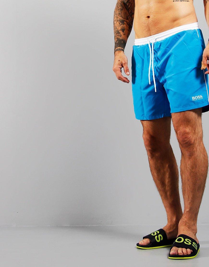 BOSS Starfish Swim Shorts Bright Blue