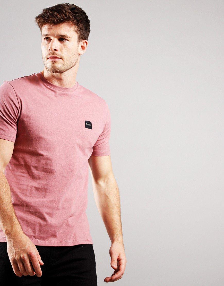 BOSS Tales Crew Neck T-Shirt Light/Pastel Pink