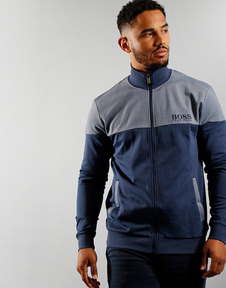 BOSS Bodywear Tracksuit Jacket Dark Blue