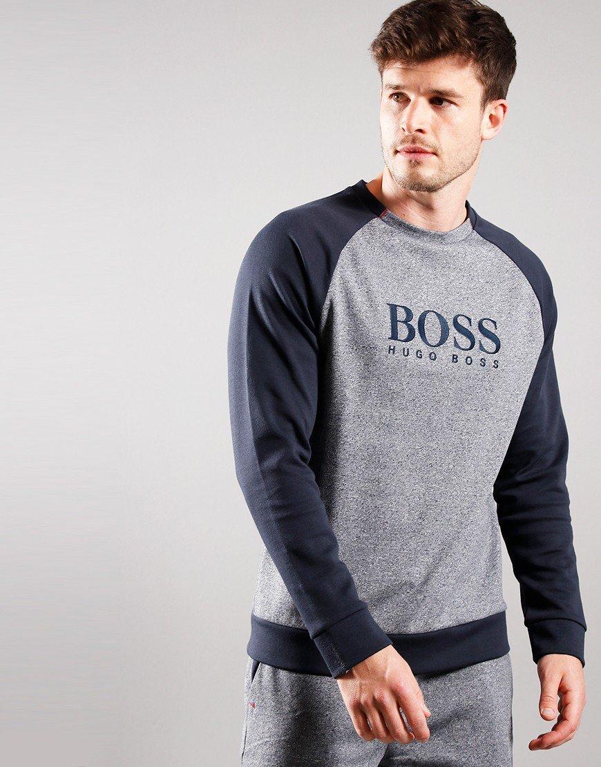 BOSS Contemporary Sweat Dark Blue