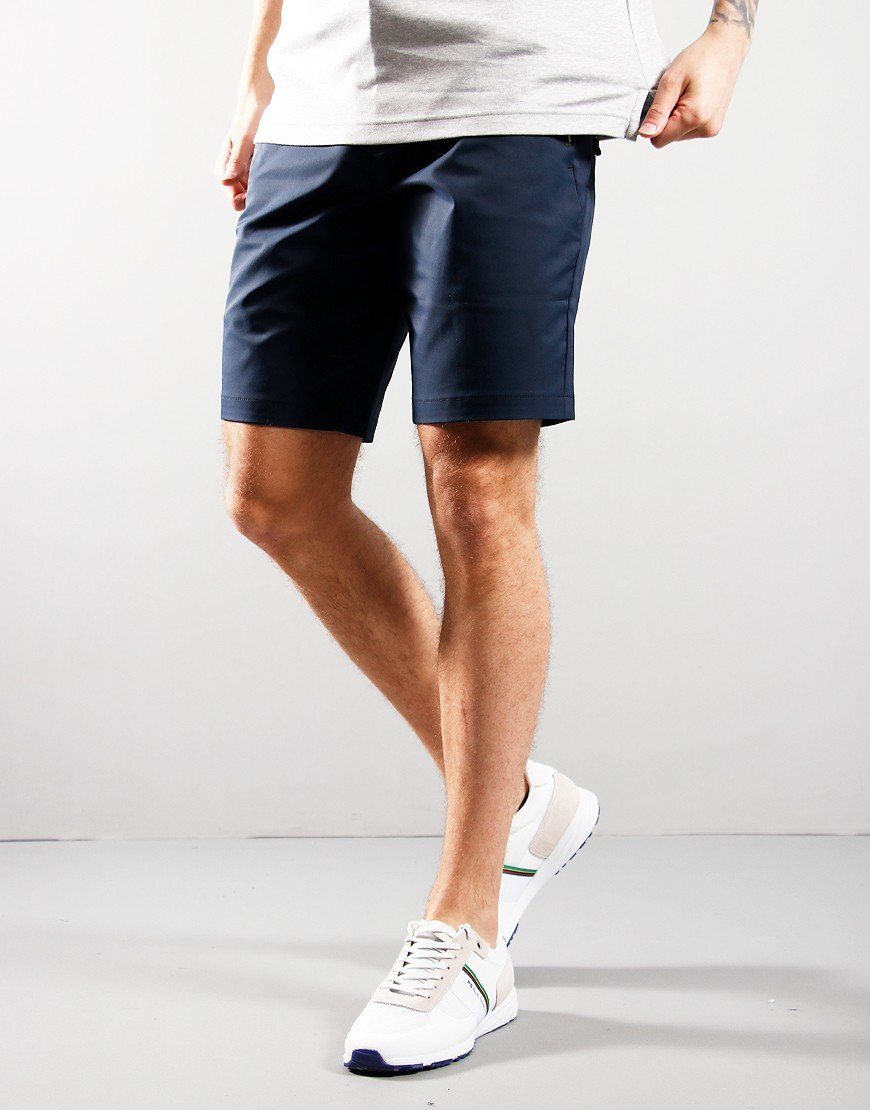 BOSS Litt Slim Fit Shorts Navy