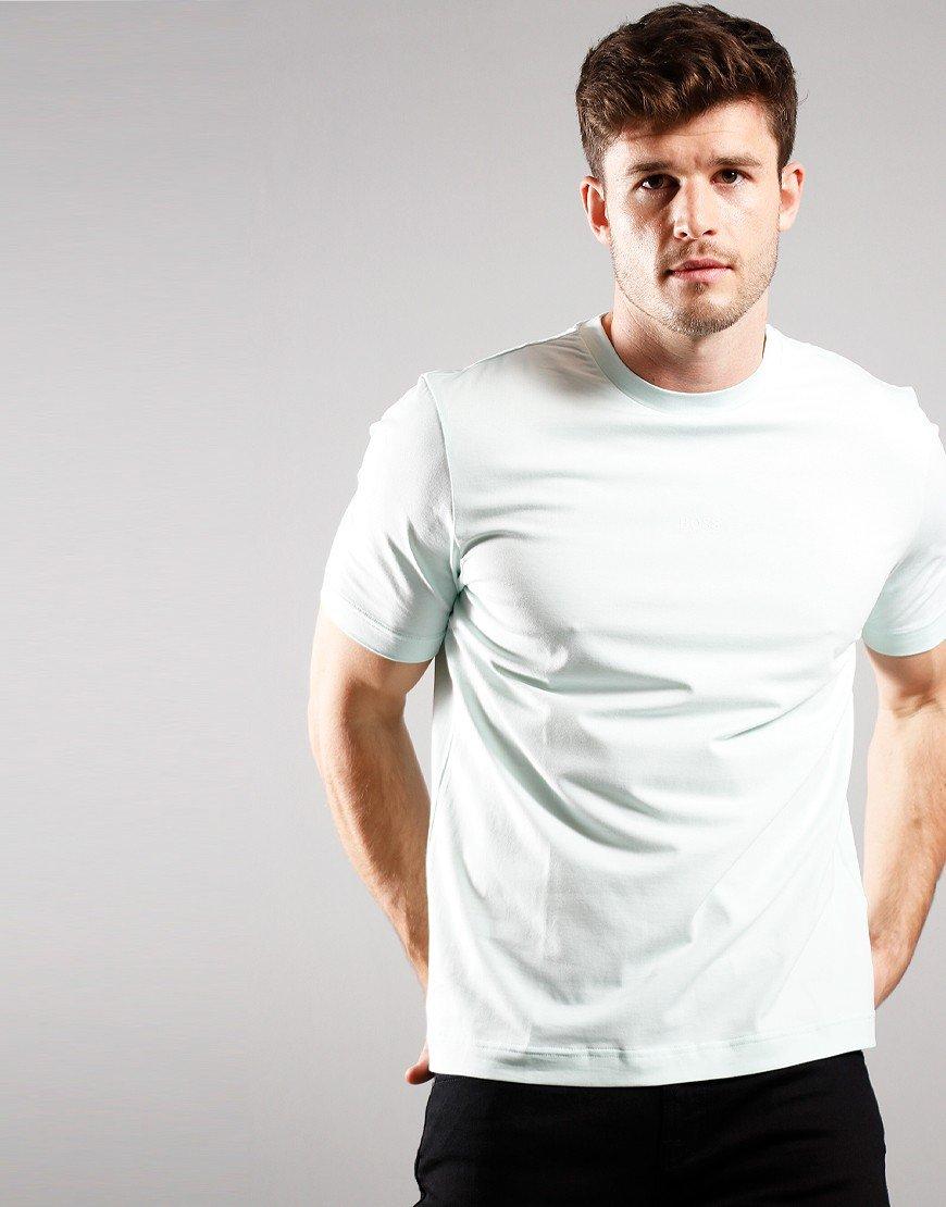 BOSS Tchup T-shirt Open Green