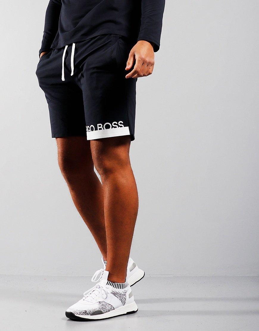 BOSS Identity Sweat Shorts Dark Blue