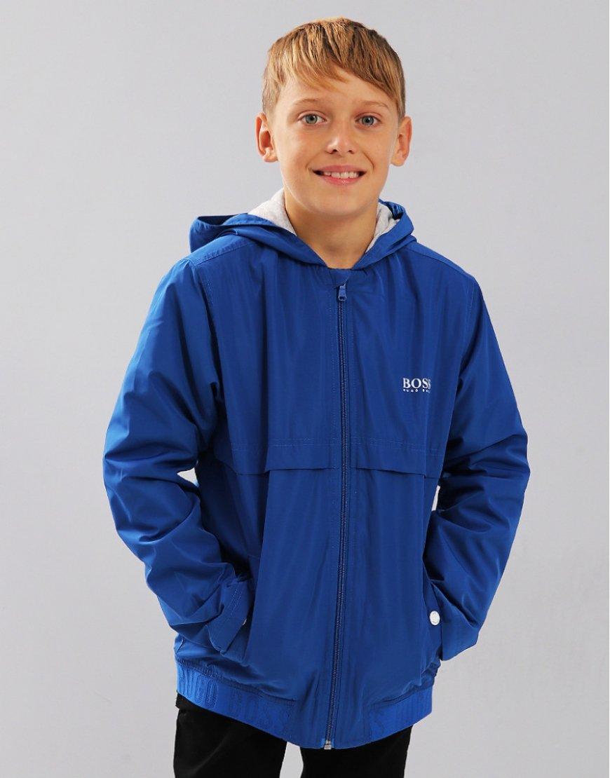 BOSS Kids Windbreaker Electric Blue